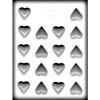 "Heart 1.25"" - Plastic Mold"