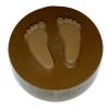 Baby Feet Cookie Chocolate Plastic Mold (Oreo)