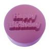 Happy Birthday Cookie Chocolate Plastic Mold (Oreo