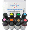 Americolor Airbrush - Assorted 8 Colour Kit