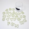 Alphabet Cutter Set (Nylon) -- Fat Daddio's