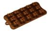 Square, Interlocking - 15 pc per mold - Silicone Mold - Fat Daddio's