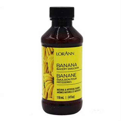 LorAnn - Banana Bakery Emulsion - 16 oz