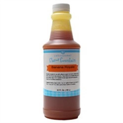 Banana Royale Natural Flavour Fountain - LorAnn - 946 mL / 32 oz