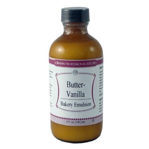 LorAnn - Butter Vanilla Bakery Emulsion - 16 oz