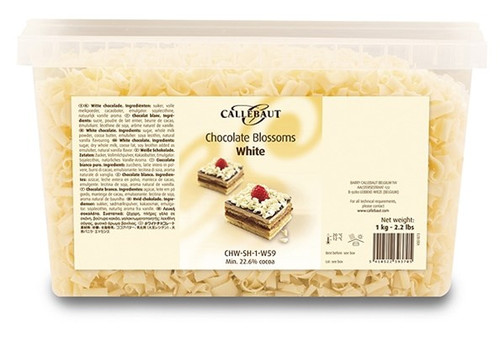 Chocolate Blossoms - White - Callebaut