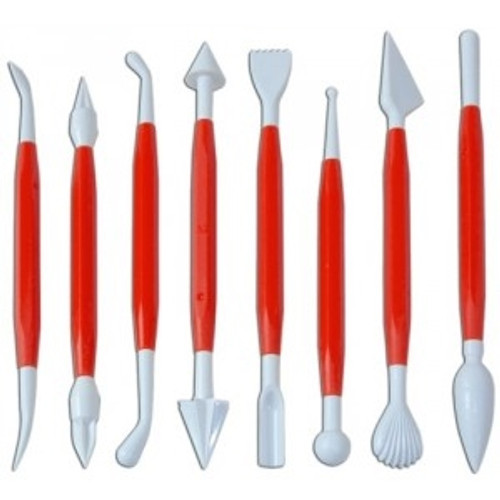 Modeling Tool Set - Deluxe (8 pc) - Fat Daddio's