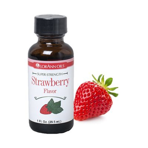 Lorann - Strawberry Flavour - 1 oz