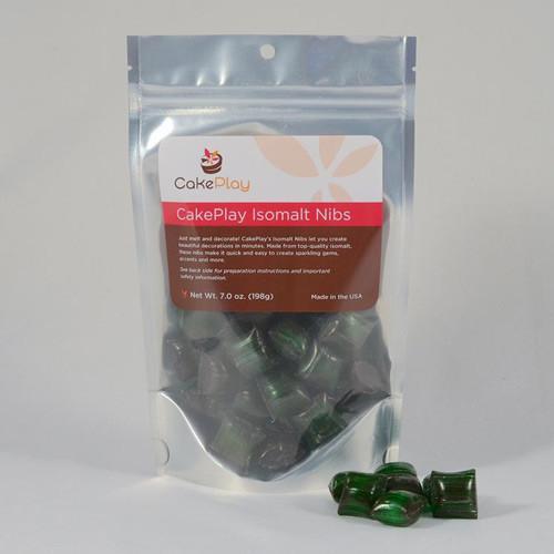 Isomalt Nibs - 198 g (7 oz) - Green - Cakeplay
