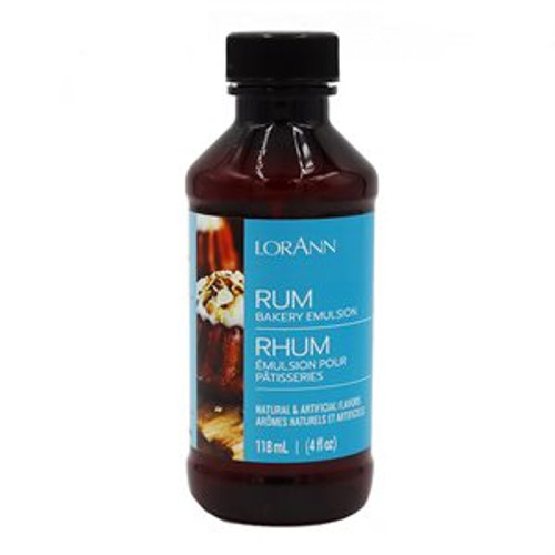 LorAnn - Rum Bakery Emulsion - 4 oz