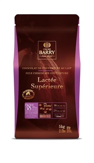Milk 38% - Lactée Supérieure - 5 kg (11 lbs) - Cacao Barry