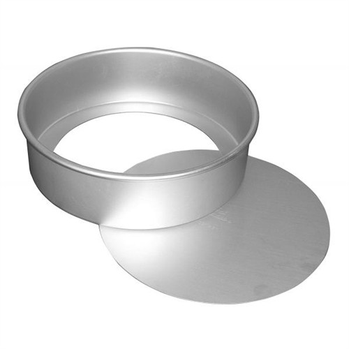 """Round Cheesecake Pans - 8"""" - Removable Bottoms - Fat Daddio's"""