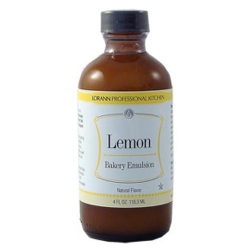 LorAnn - Lemon Bakery Emulsion - 16 oz