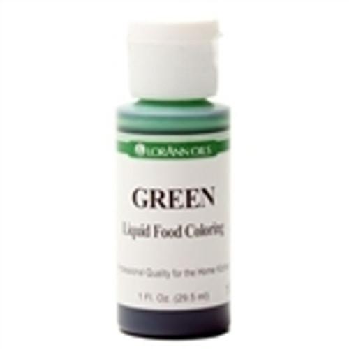 Green Food Colouring - Liquid - 30 mL/1 oz - LorAnn