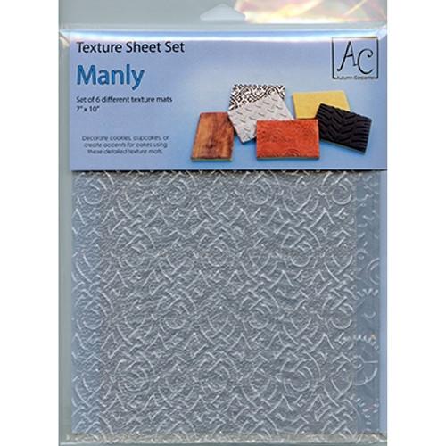 Texture Mat - Manly Set - (Set of 6)