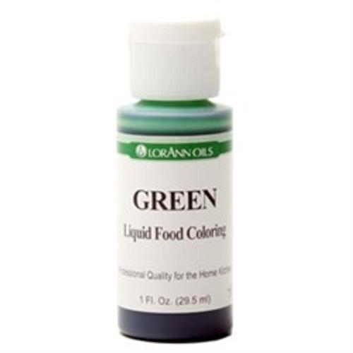 Green Food Colouring - Liquid - 3.8 L / 1 Gallon - LorAnn