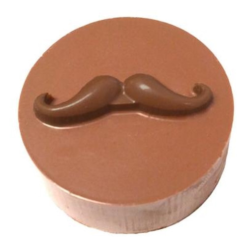 Mustache Cookie Chocolate Plastic Mold (Oreo)