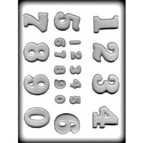 Numbers - Plastic Mold