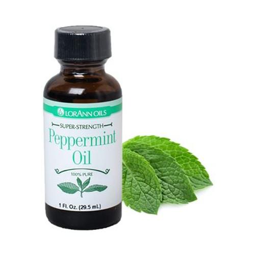 Lorann - Peppermint Oil - 1 oz
