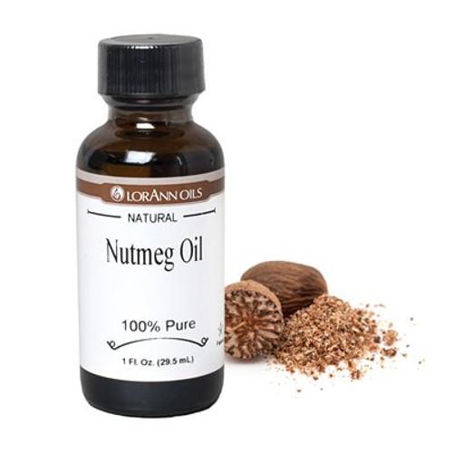 LorAnn - Nutmeg Oil (Natural) - 1 oz