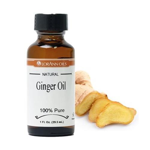 LorAnn - Ginger Oil (Natural) - 1 oz