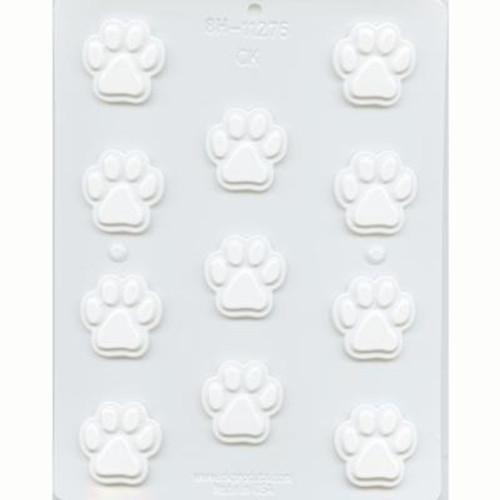 Paw Print  - Plastic Mold