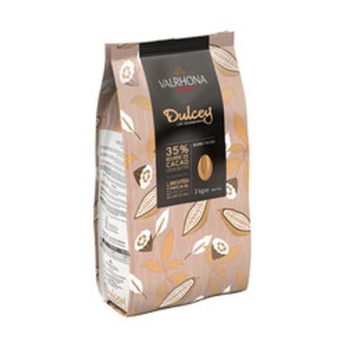 Chocolate -Dulcey Blond 32% (Discs) - Valrhona