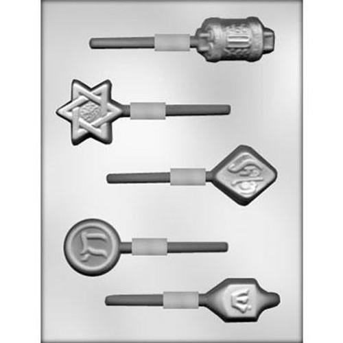 Jewish Symbol Lollipop - Plastic Chocolate Mold