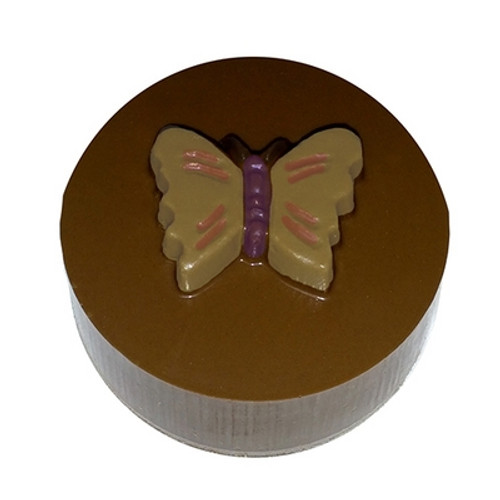 Butterfly- Round Cookie Chocolate Plastic Mold (Oreo)