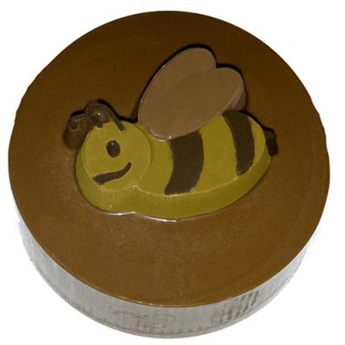Bee- Round Cookie Chocolate Plastic Mold (Oreo)