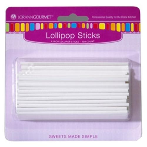Lollipop Sticks - Small - 100/pack - LorAnn