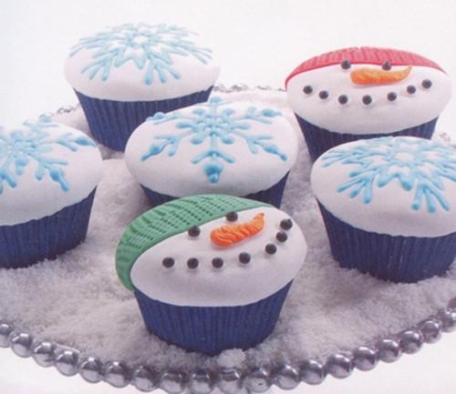 Cupcake/Cookie Texture Tops - Winter (Set of 3)