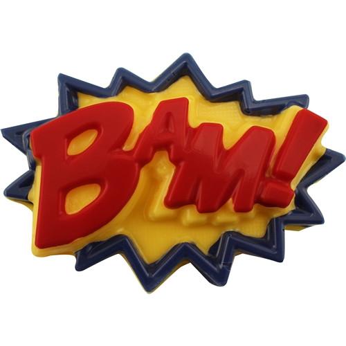 BAM! Superhero Lingo - Plastic Chocolate Mold