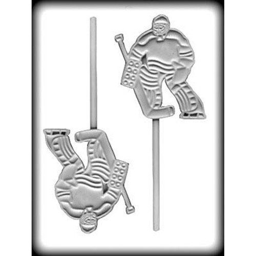 Hockey Goalie - Lollipop Plastic Mold
