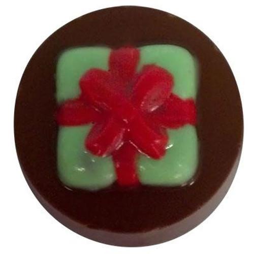 Present Bow Cookie Chocolate Plastic Mold (Oreo)