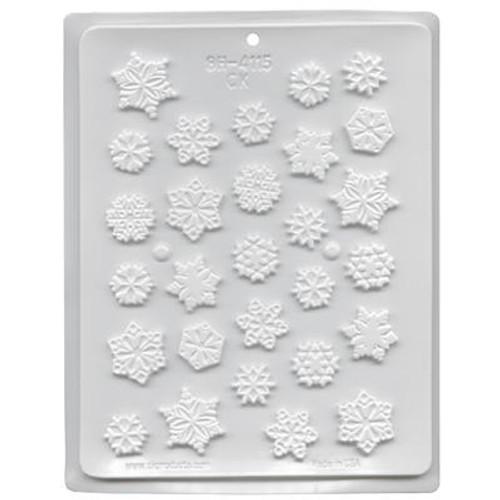 Snowflakes assortment  - Plastic Mold