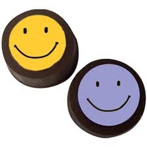Happy Faces Cookie Chocolate Plastic Mold (Oreo)