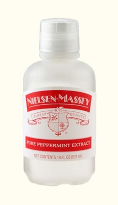 Peppermint Extract - 531 mL / 18 oz - Nielsen Massey