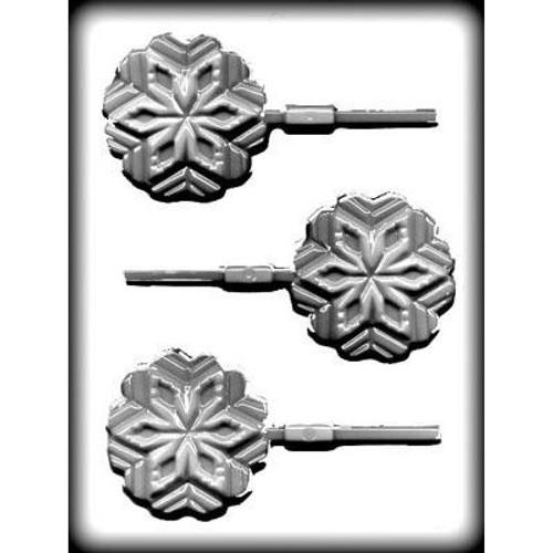 Snowflake - Lollipop Plastic Mold