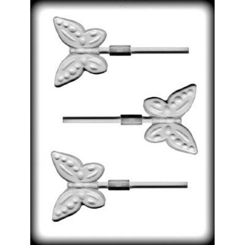 """Butterfly - 2 3/4"""" - Plastic Mold"""