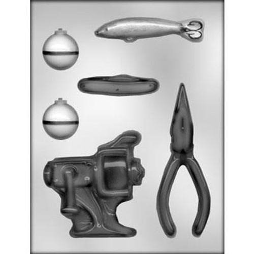 Fishing Tackle - Plastic Chocolate Mold--NEW!