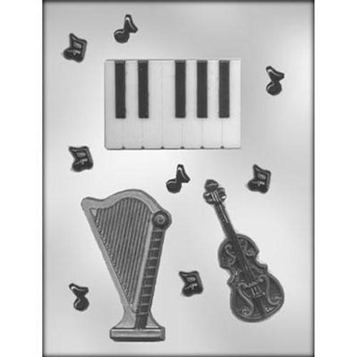 String Trio- Plastic Chocolate Mold--NEW!