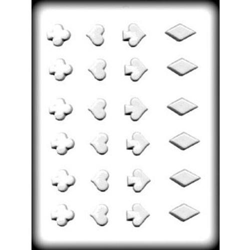 Hearts/Spades/Clubs/Diamonds  - Plastic Mold