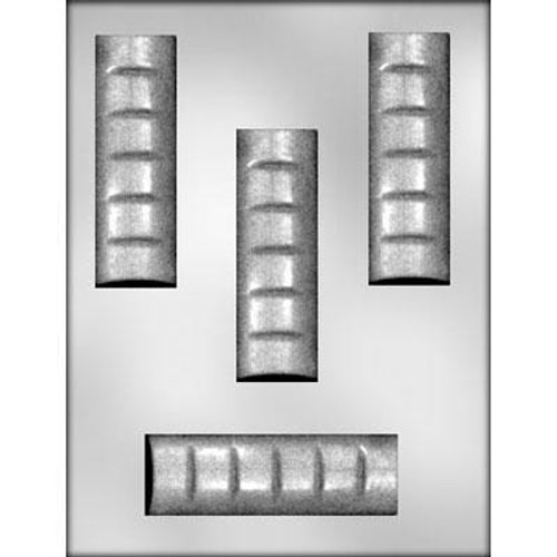 "Candy Bar 4.5"" - Plastic Chocolate Mold"