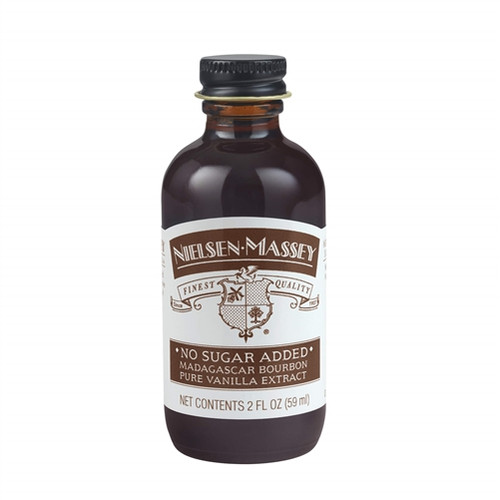 Vanilla Extract - Pure - Madagascar-NO SUGAR ADDED - 118 mL / 4 oz - Nielsen Massey