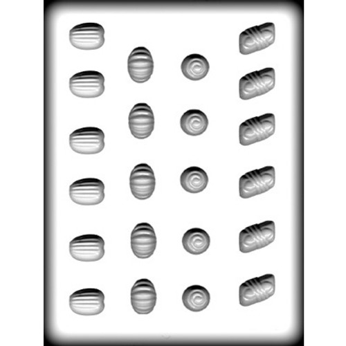 Fancy Assortment - Hard Candy/Chocolate Plastic Mold