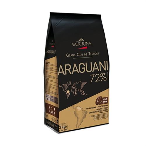 Chocolate - Dark Bittersweet 72% - Araguani Fèves (Discs)