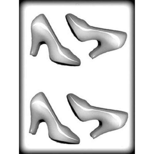 "High Heel Shoes - 4"" - Plastic Mold"