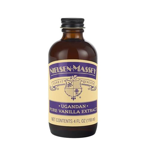 Vanilla Extract - Pure - Ugandan - 118 mL / 4 oz - Nielsen Massey