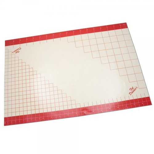 """Silicone Work Mat With Grid Lines 24""""x36""""--Fat Daddio's"""